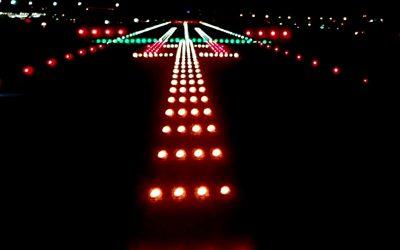 Obra balizamiento pista 14L-32R Aeropuerto Madrid-Barajas