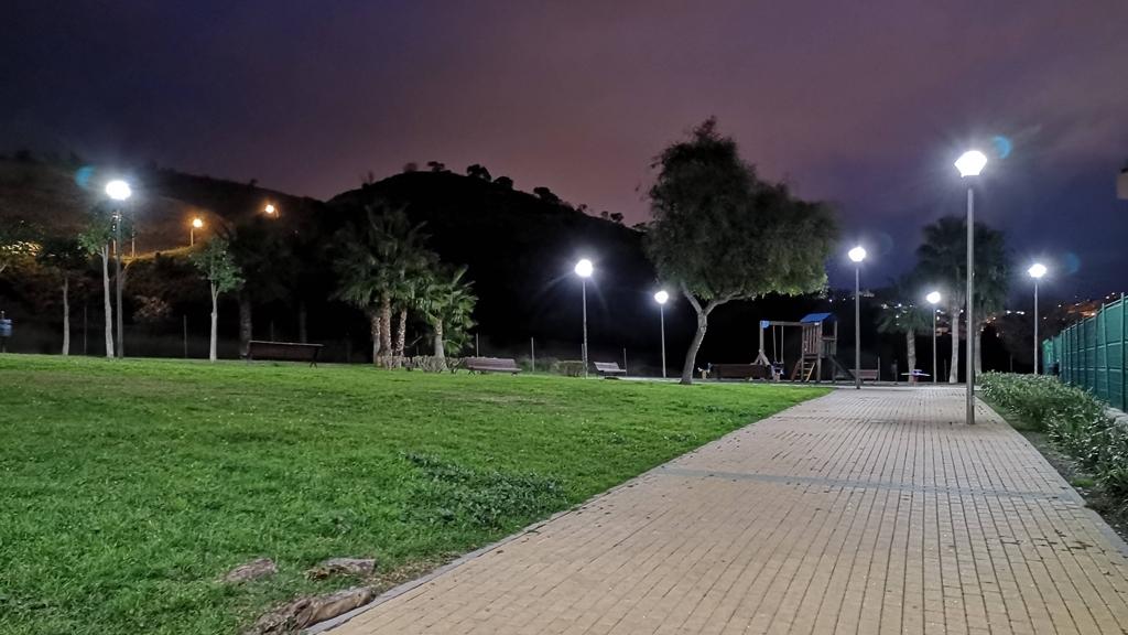Iluminación del alumbrado en Malaga